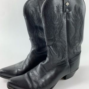 Harley Davidson Women's Leather Cowboy boots 6